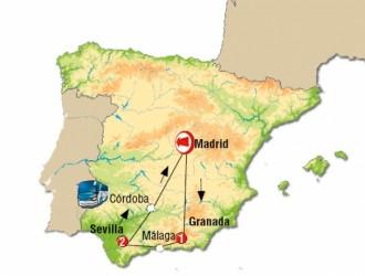 Andalucía, España · 04 Días · Recorrido por los maravillosos destinos de España en un solo viaje.