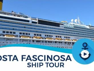 Costa Cruceros Fascinosa: Salida 18/ 12/ 2017 · 4 días · Buenos Aires – Abraao – Río de Janeiro