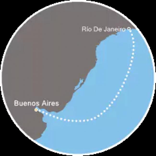 Costa Cruceros Fascinosa: Salida 27/ 12/ 2018 · 4 días · Buenos Aires - Río de Janeiro - Buenos Aires
