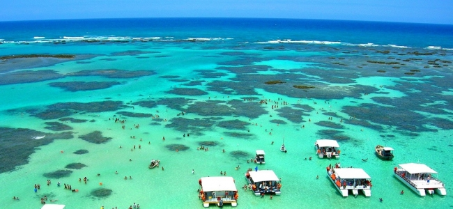 Porto Galinhas, Brasil · Verano 2019 · 8 días · Disfrutá de una piscina natural de tibias aguas poblada de peces de colores y arrecifes de corales.