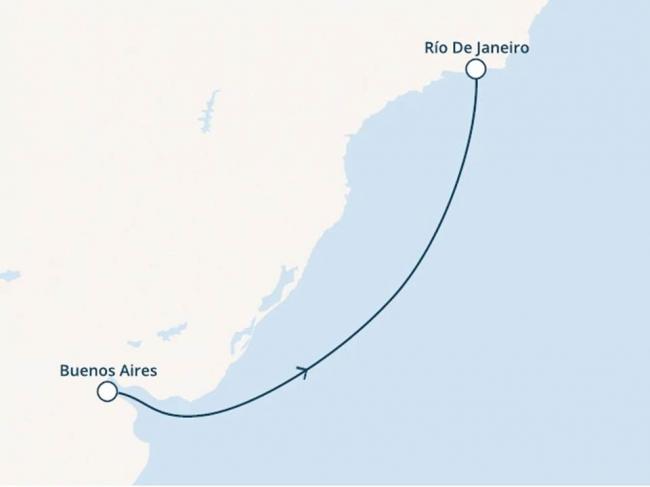 Costa Cruceros Pacífica: Salida 23/ 12/ 2019 · 5 días · Buenos Aires - Rio de Janeiro - Buenos Aires
